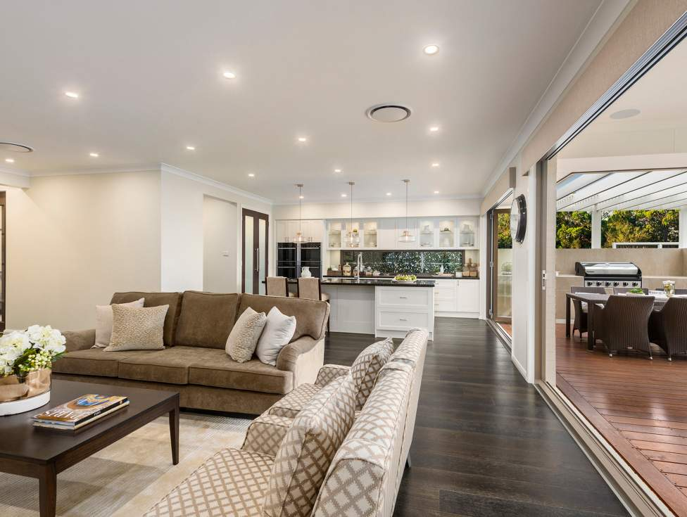 Living Room & Kitchen - Marsden Park - McDonald Jones