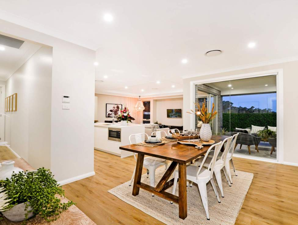 Dining, Kitchen - Portsea Home Design - McDonald Jones