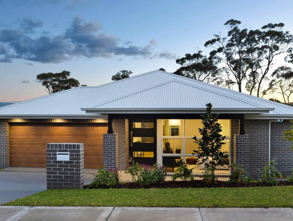 Facade - Portsea Home Design - McDonald Jones