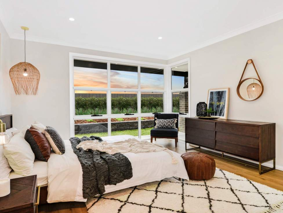 Master Bedroom - Portsea Home Design - McDonald Jones