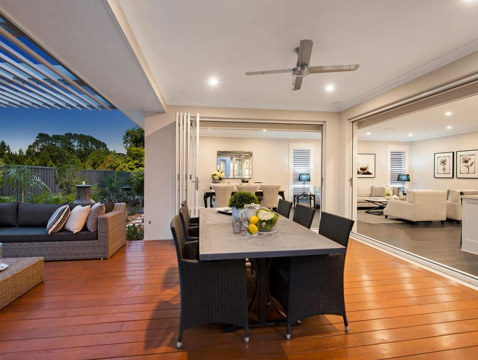 Alfresco - St Clair Luxury Two Storey Home - McDonald Jones