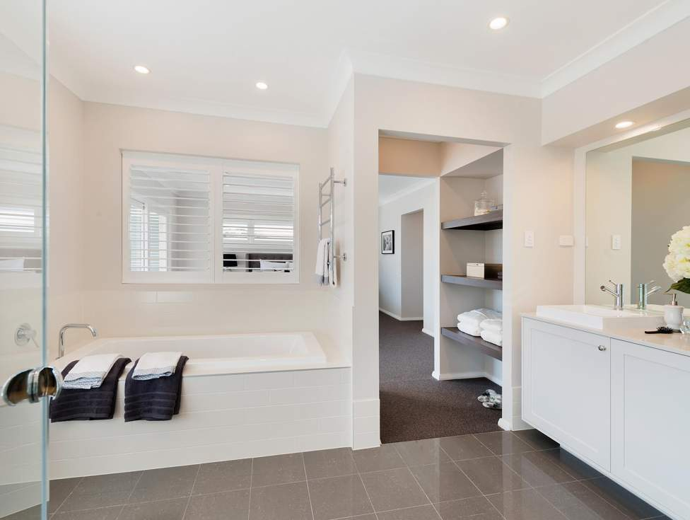 Bathroom - St Clair Luxury Two Storey Home - McDonald Jones