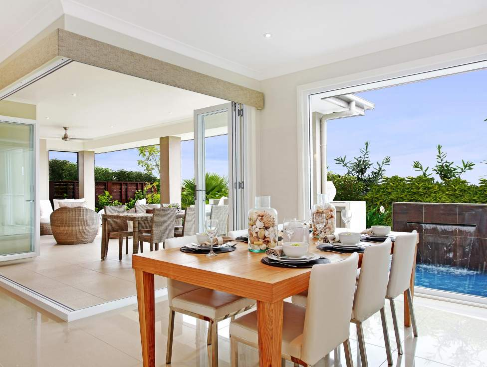 Dining Room, Alfresco - Garden Retreat - McDonald Jones