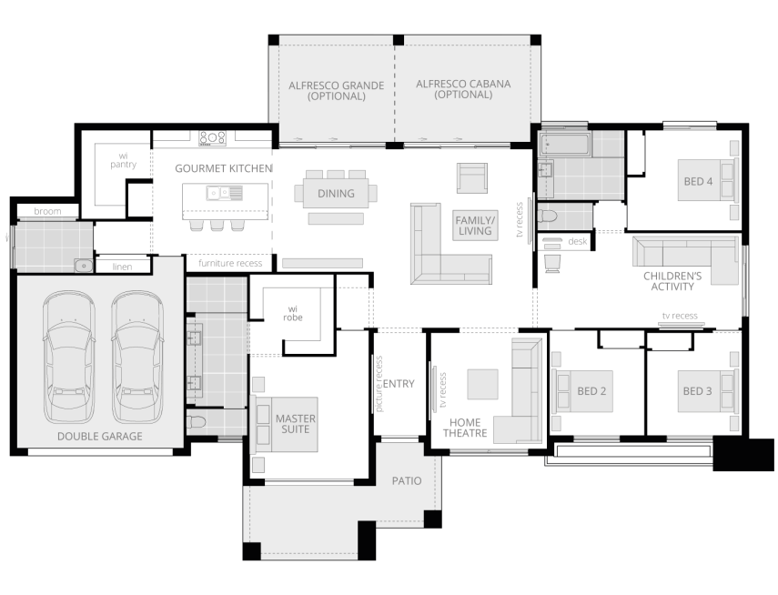 Esperance Executive- Acreage Floor Plan- McDonald Jones