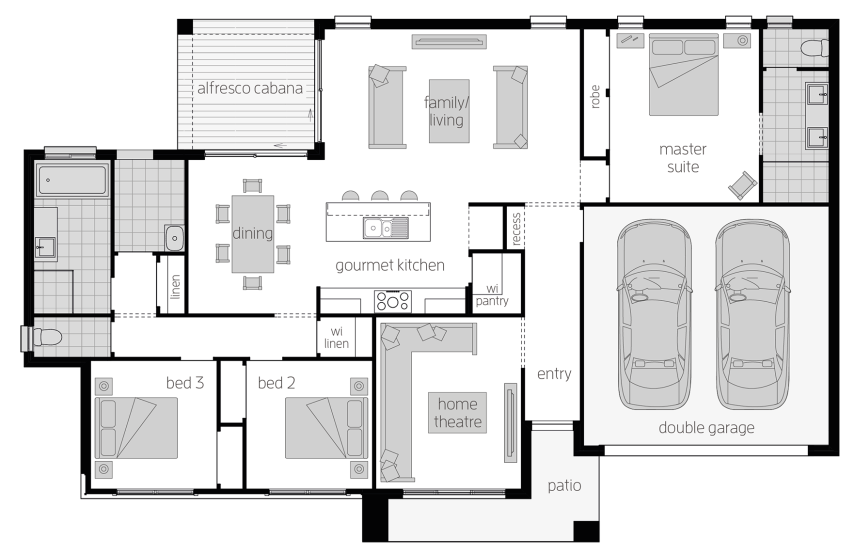 The Eaton Corner Block House Design Mcdonald Jones Homes