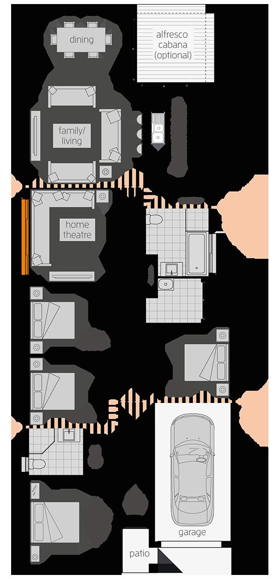 The Hamilton New House Design In Nsw Mcdonald Jones Homes