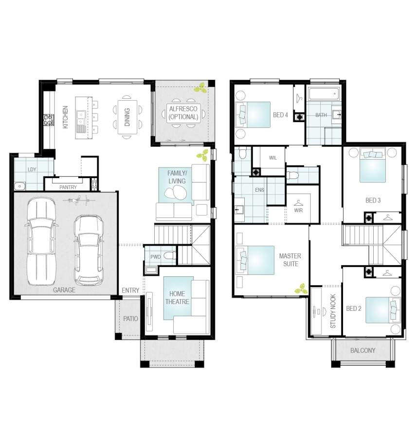 Lurento One - Single Storey Floor Plan - McDonald Jones
