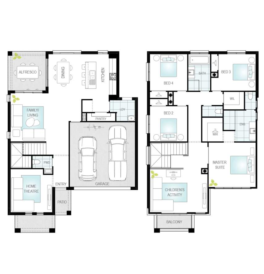 Lurento Two - Single Storey Floor Plan - McDonald Jones