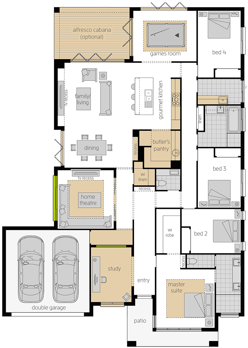 Botanica upgrade floorplan lhs