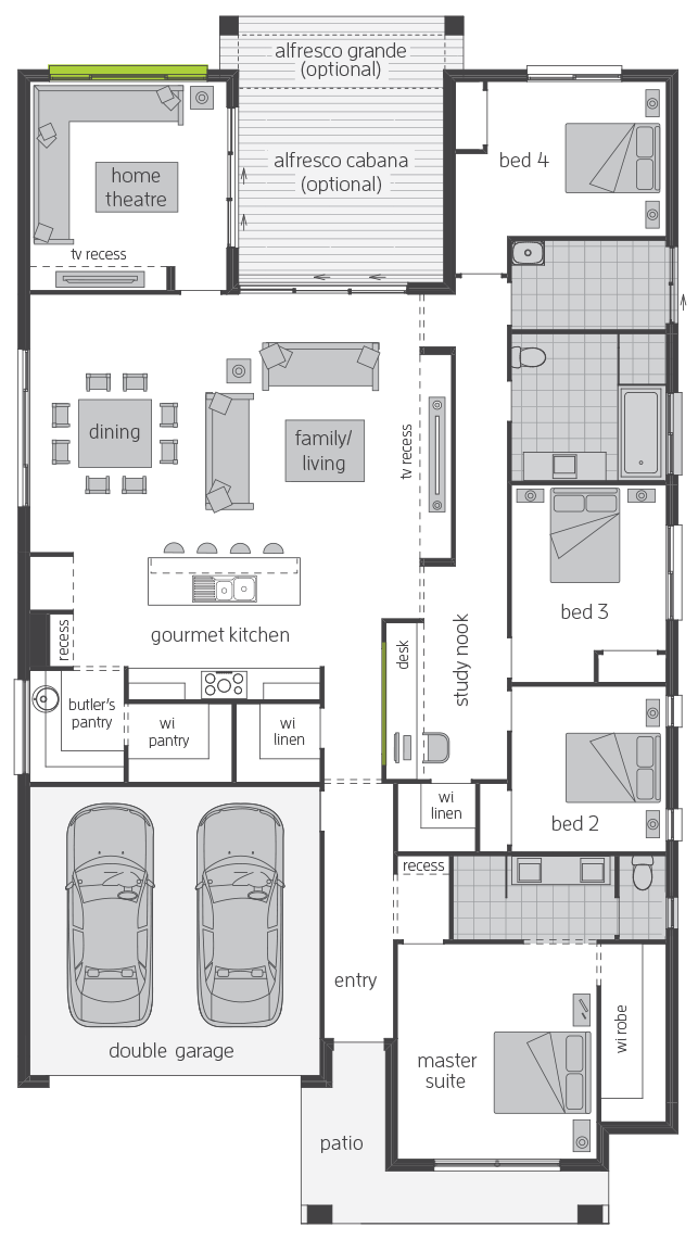 Essington Two floorplan lhs
