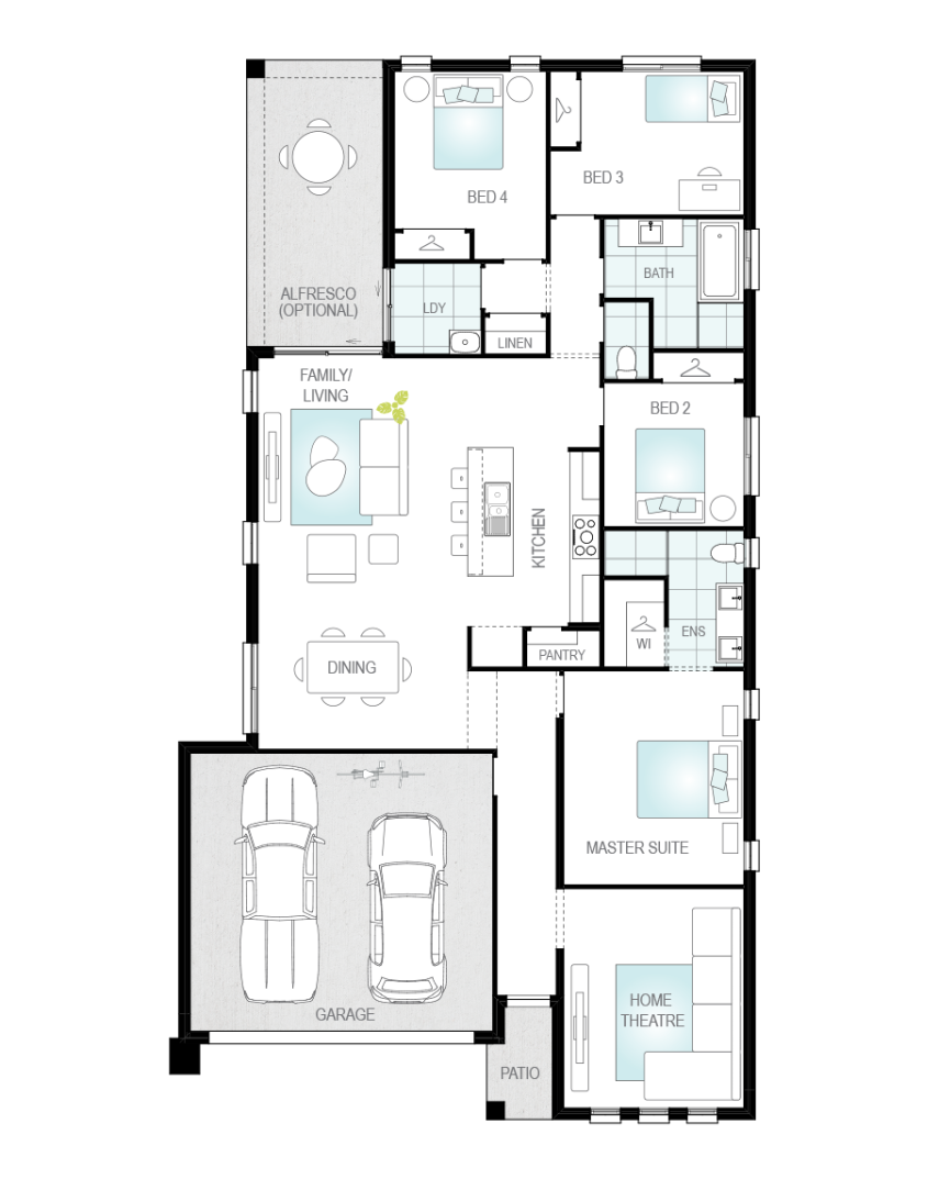 Floor Plan - Buick - Now Series - Canberra - McDonald Jones