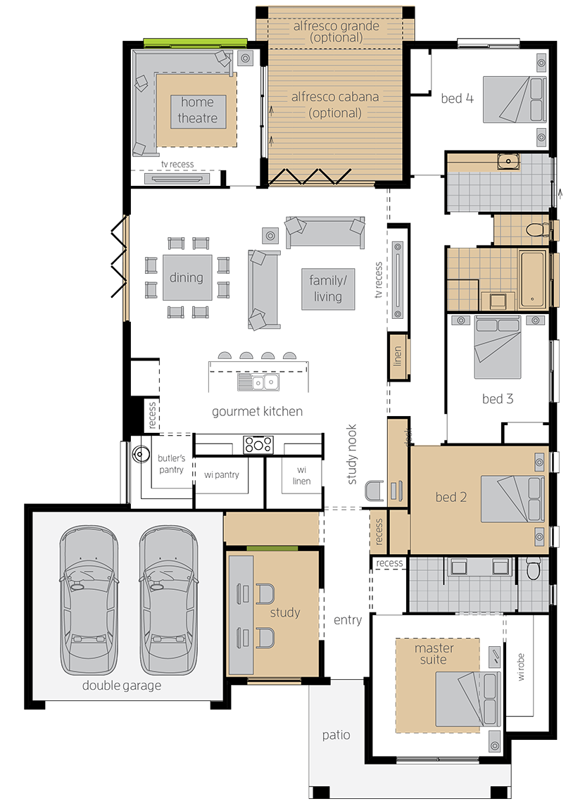Essington Two upgrade floorplan lhs