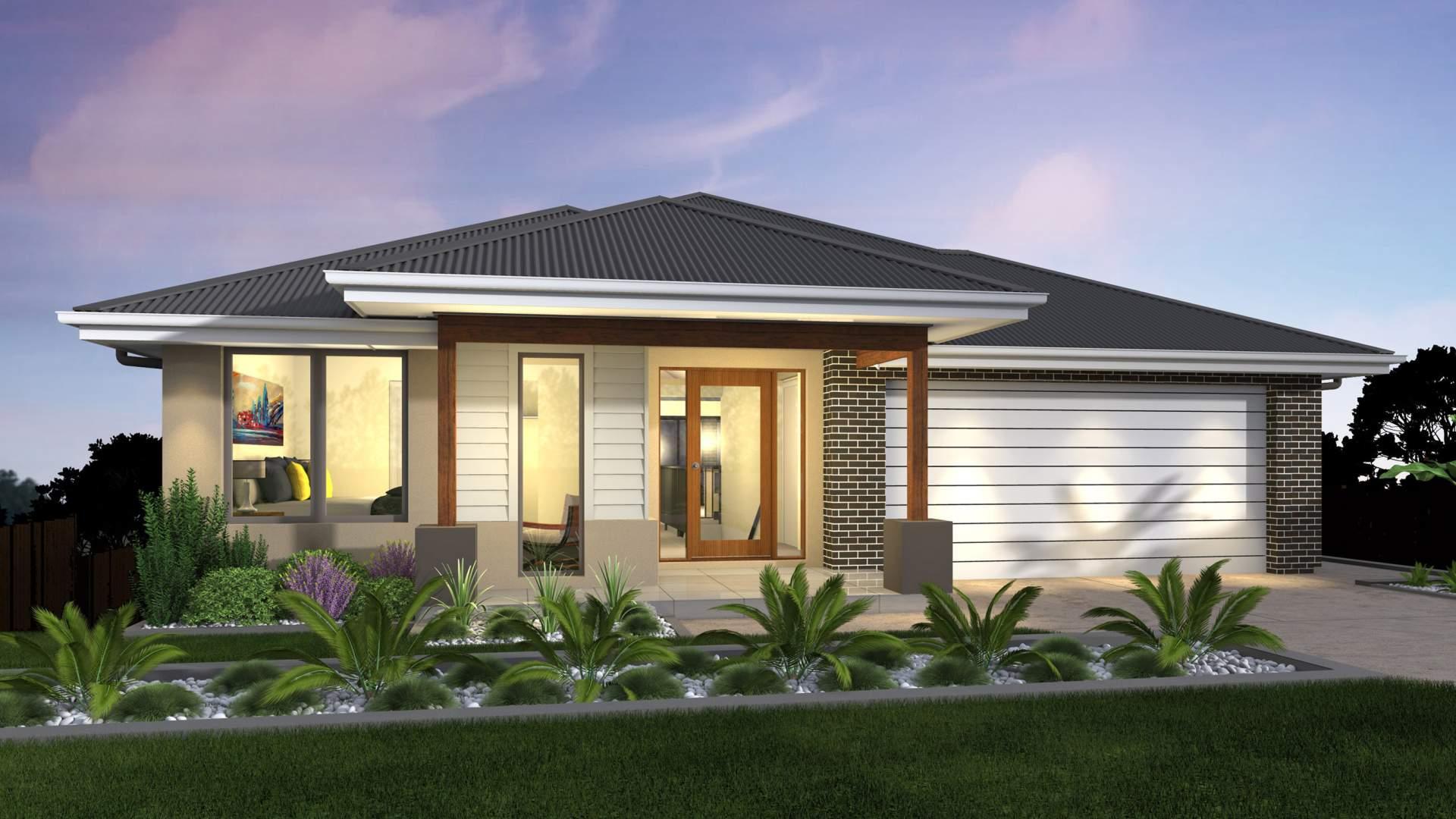 Horizon Sloping Block House Design Mcdonald Jones Homes