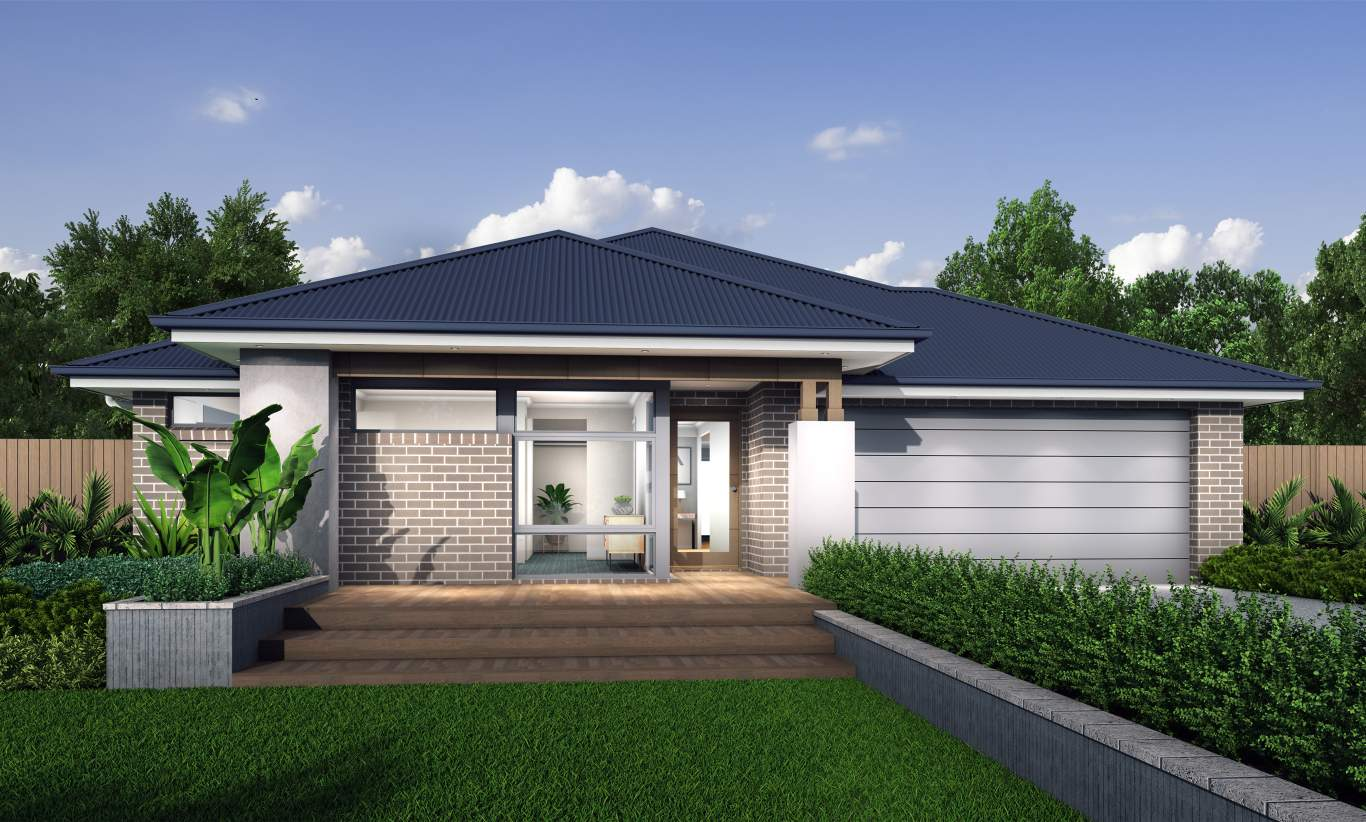Kalinda Facade - Botanica - McDonald Jones Homes