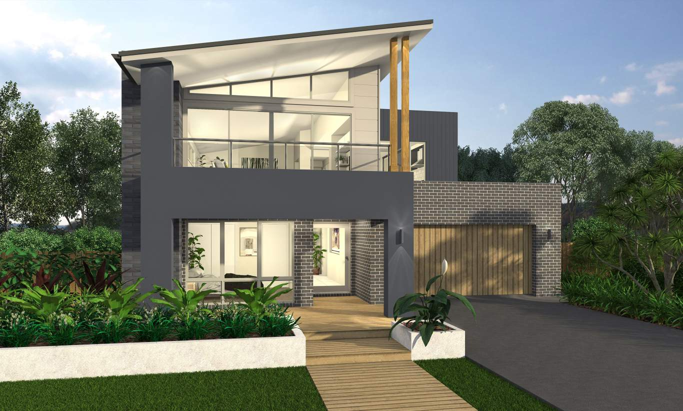 Luxury Two Storey Home Design Massena Mcdonald Jones Homes