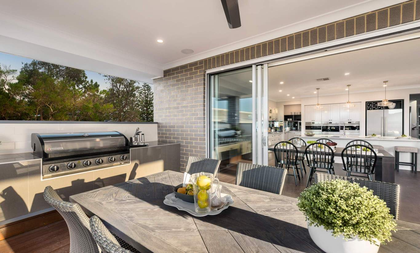 Alfresco - Avondale Two Storey Home - Canberra - McDonald Jones