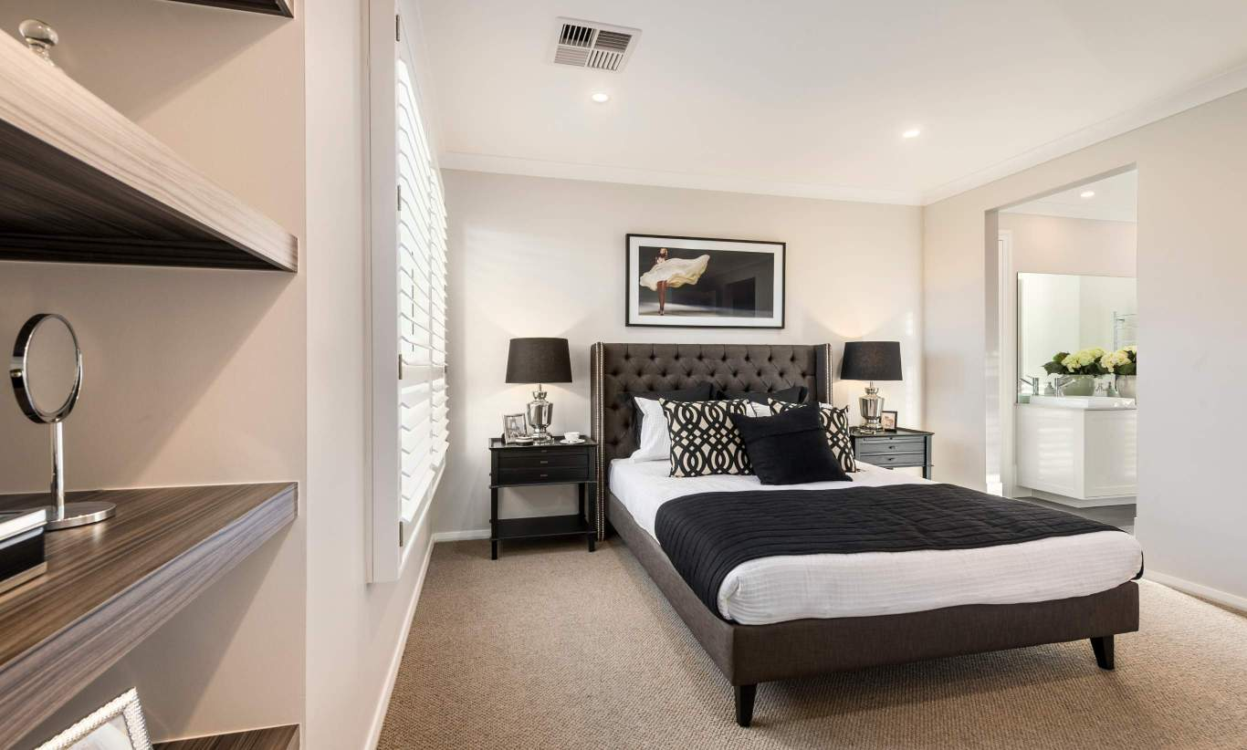 Master Bedroom - Avondale Two Storey Home - Canberra - McDonald Jones