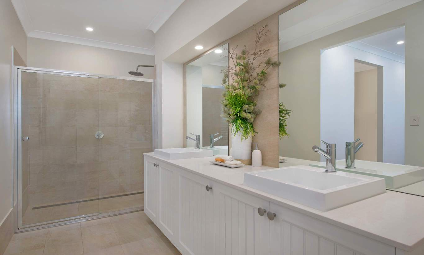 Ensuite - Seaview Display Home, Calderwood - McDonald Jones