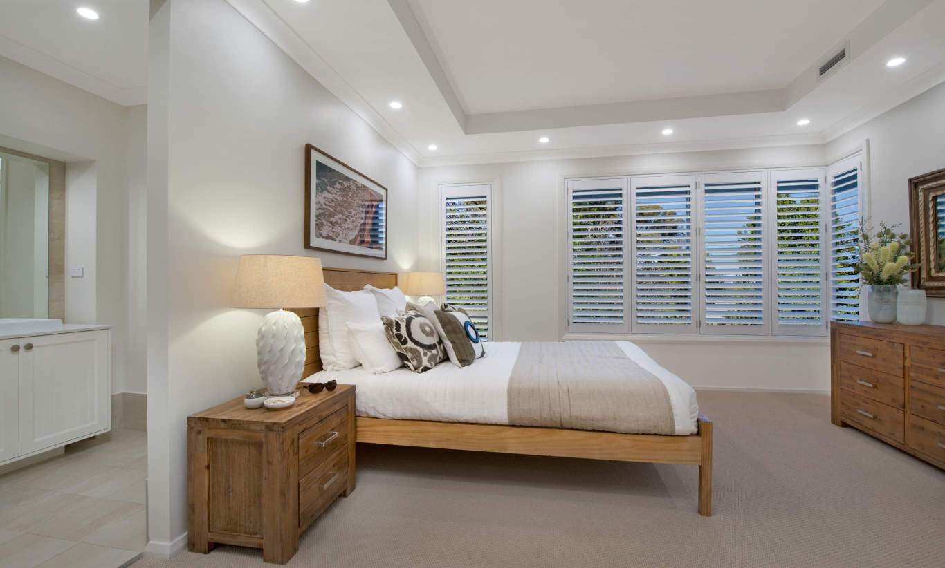Master Suite - Seaview Display Home, Calderwood - McDonald Jones