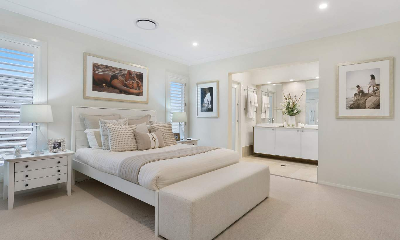 Master Bedroom - Castleton Two Storey Home - McDonald Jones