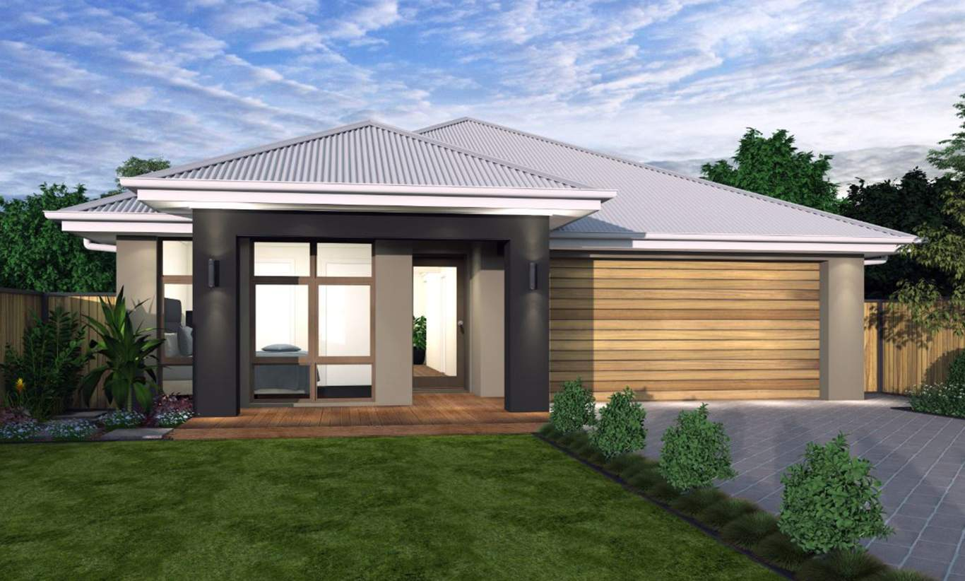 Clayton Facade - Santa Fe Single Storey Home - McDonald Jones