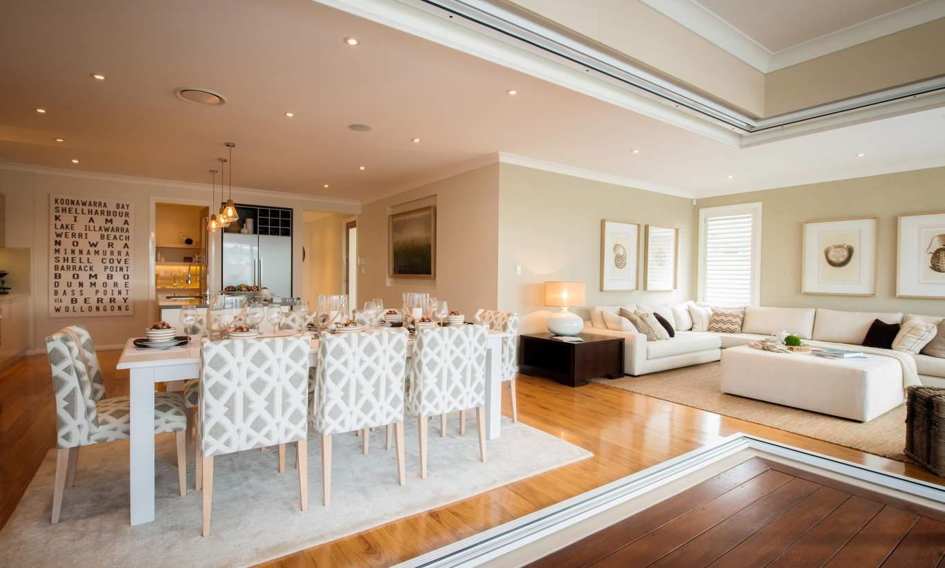 Dining & Living - Seaside Retreat - Shell Cove - McDonald Jones