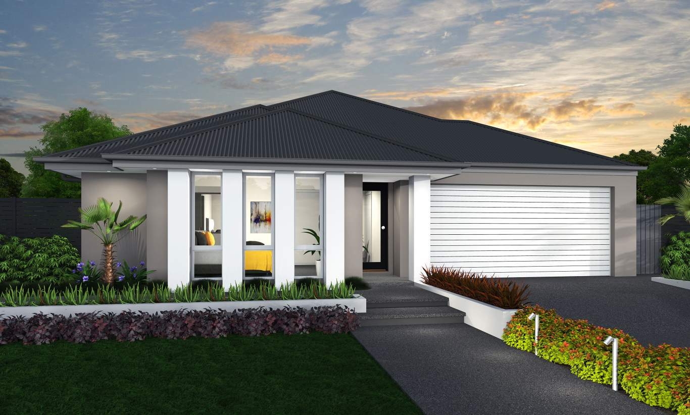 Grange Facade - Linden Home Design - McDonald Jones