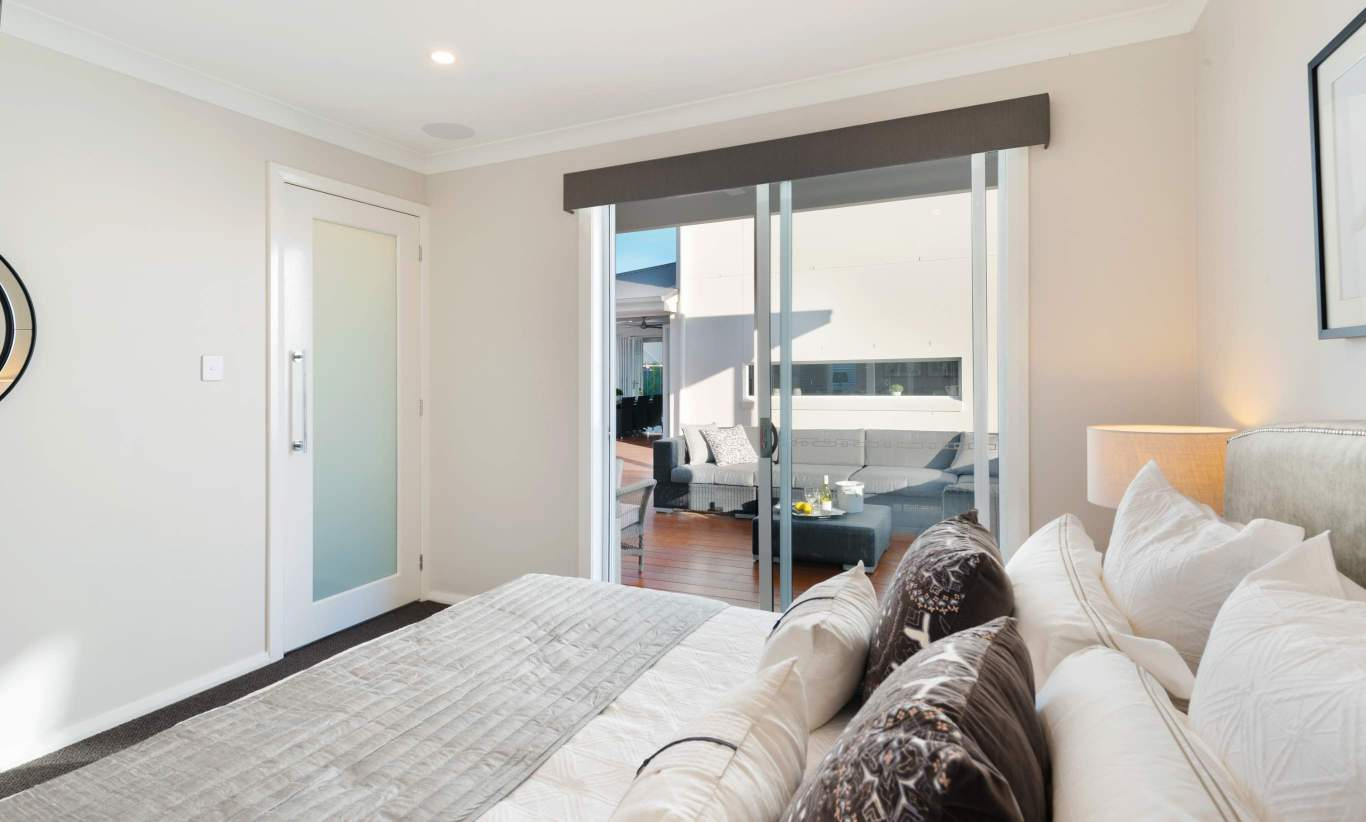 Master Bedroom - Granny Flat - McDonald Jones