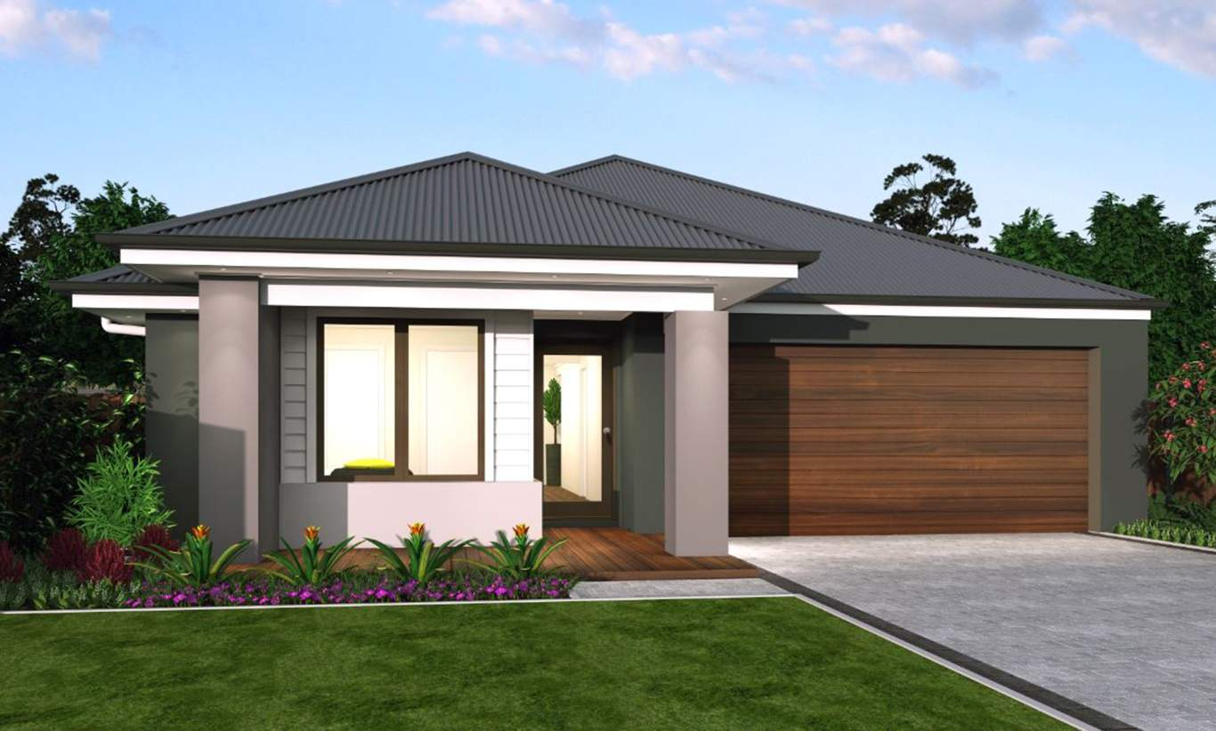 Leon Facade - Santa Fe Single Storey Home - McDonald Jones