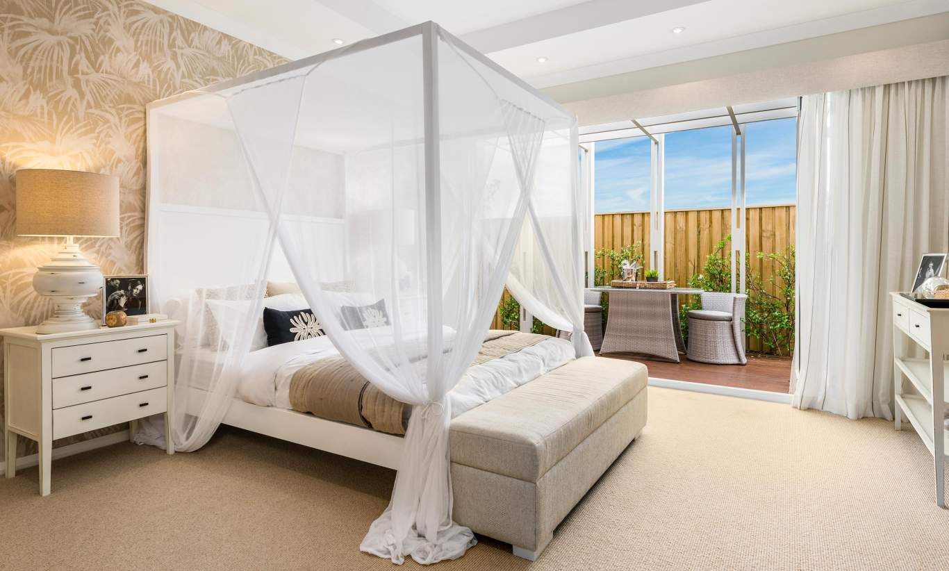 Master Bedroom - Seaside Retreat - Shell Cove - McDonald Jones