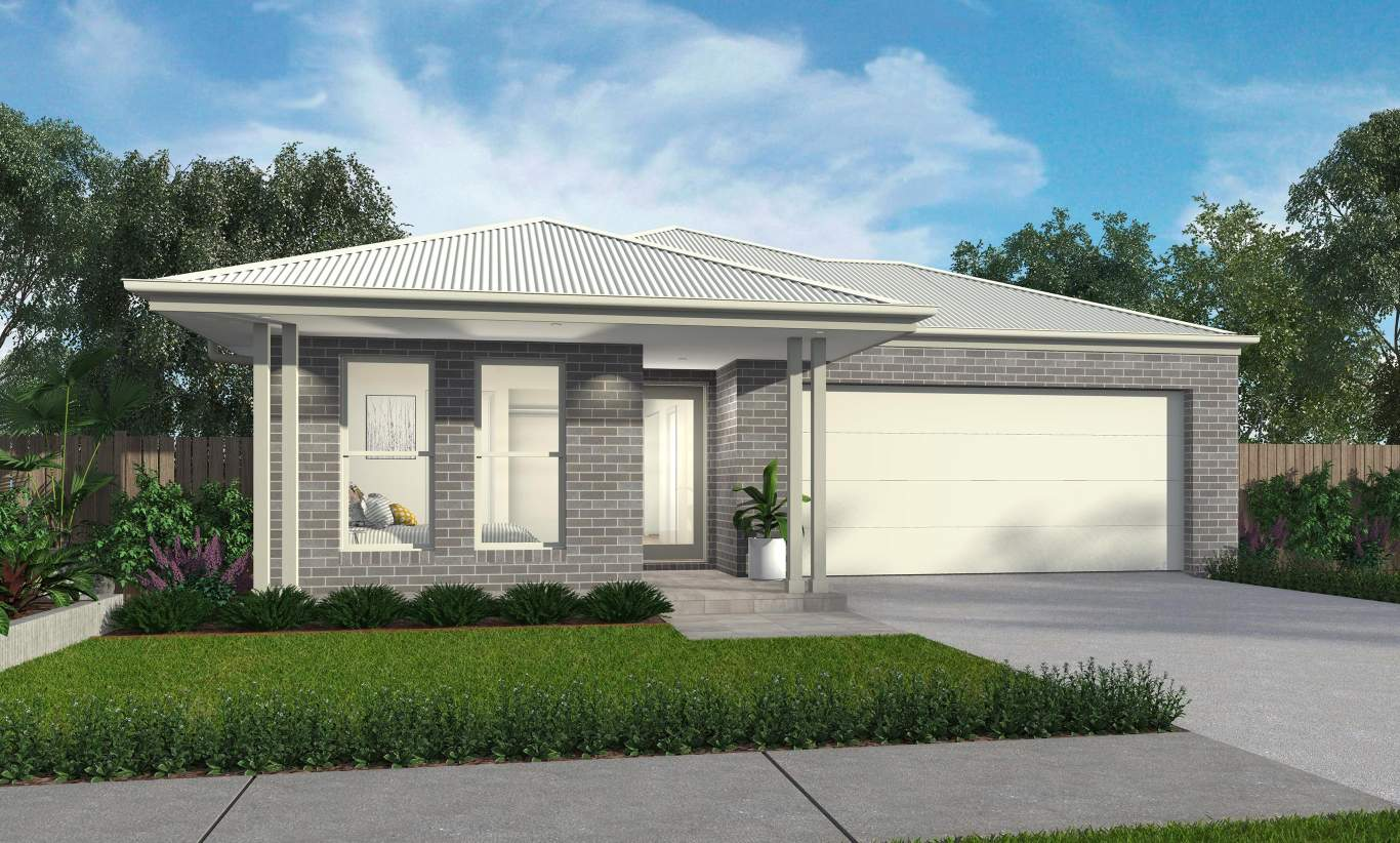Everton  Facade - Castalla Home Design - McDonald Jones