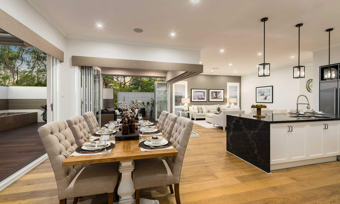 San Marino Executive- Dining, Alfresco, Family/Living and Kitchen