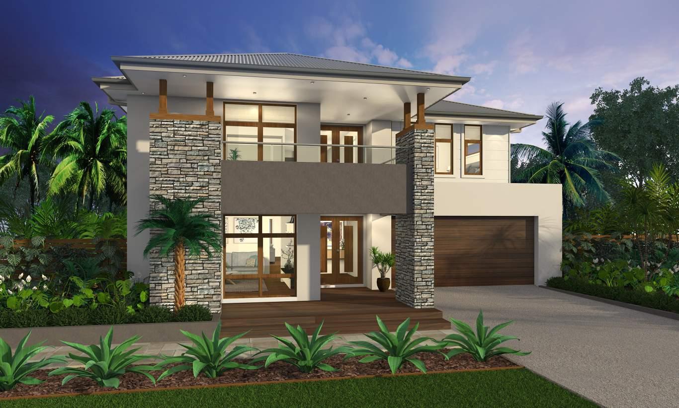 Contemporary Two Storey Home