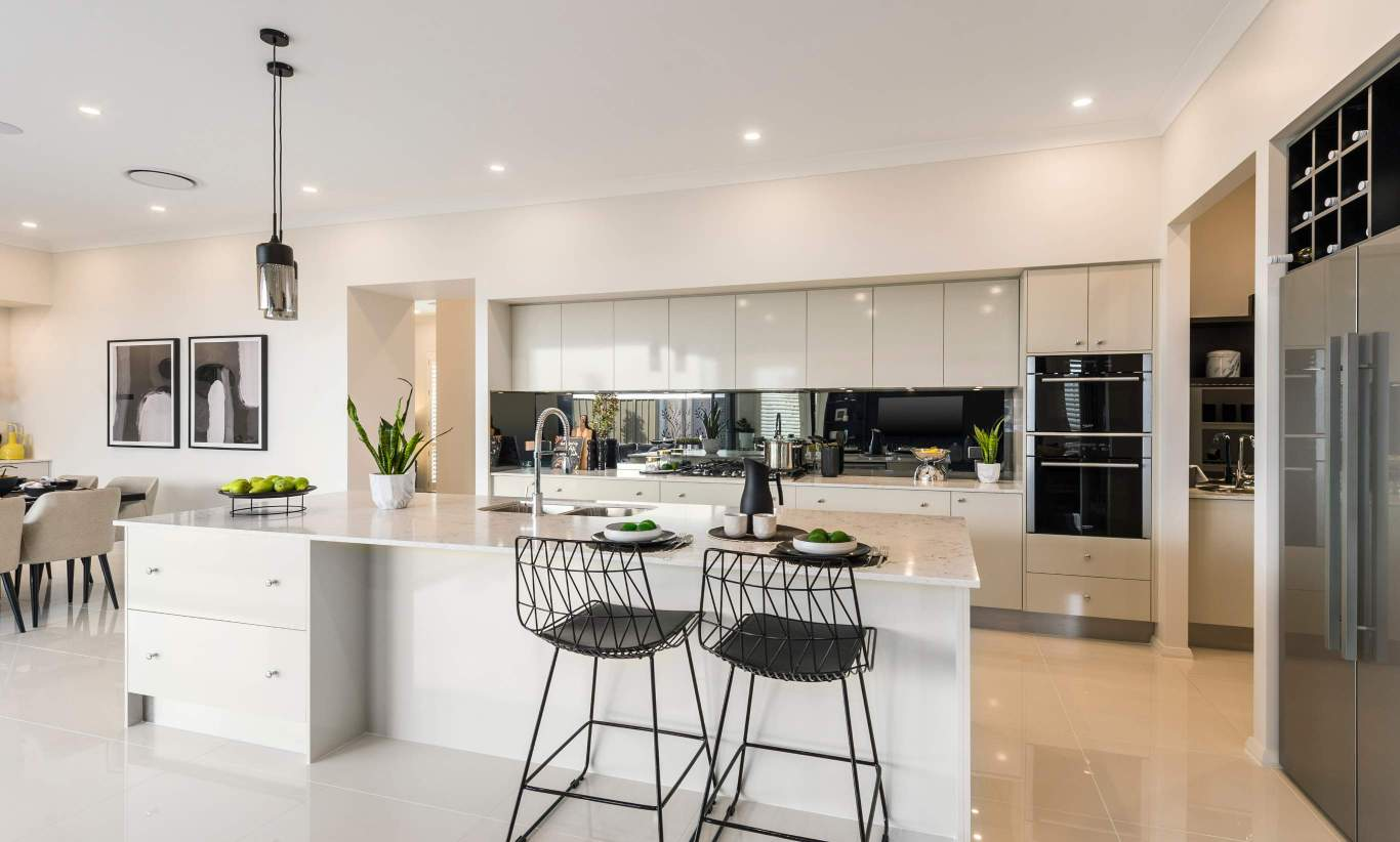 Kitchen - Seaview Display Home at Billy's Lookout - McDonald Jones