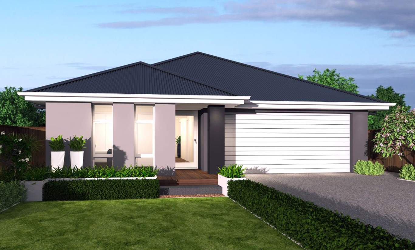 Trend Facade - Santa Fe Single Storey Home - McDonald Jones