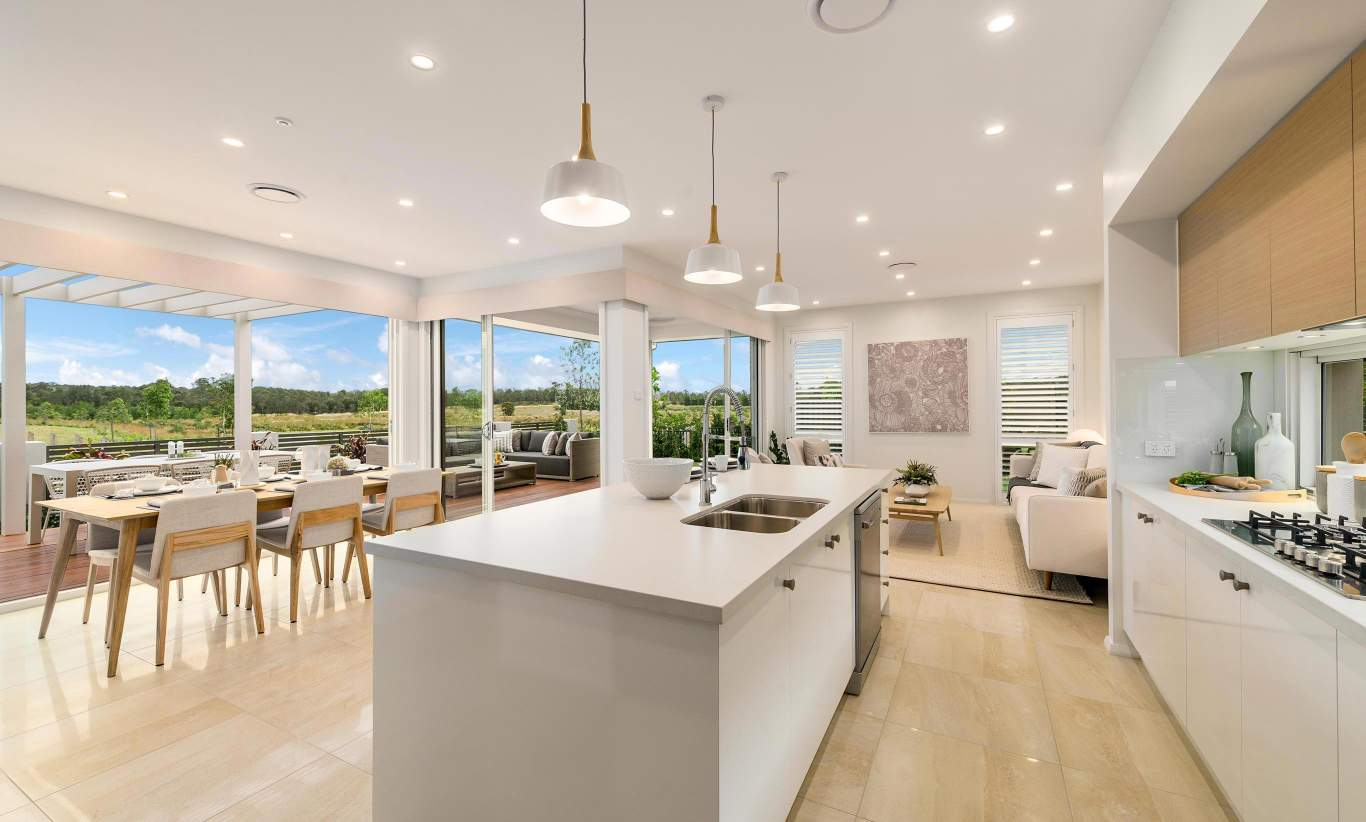Tulloch 31- Kitchen, Family/Living and Dining