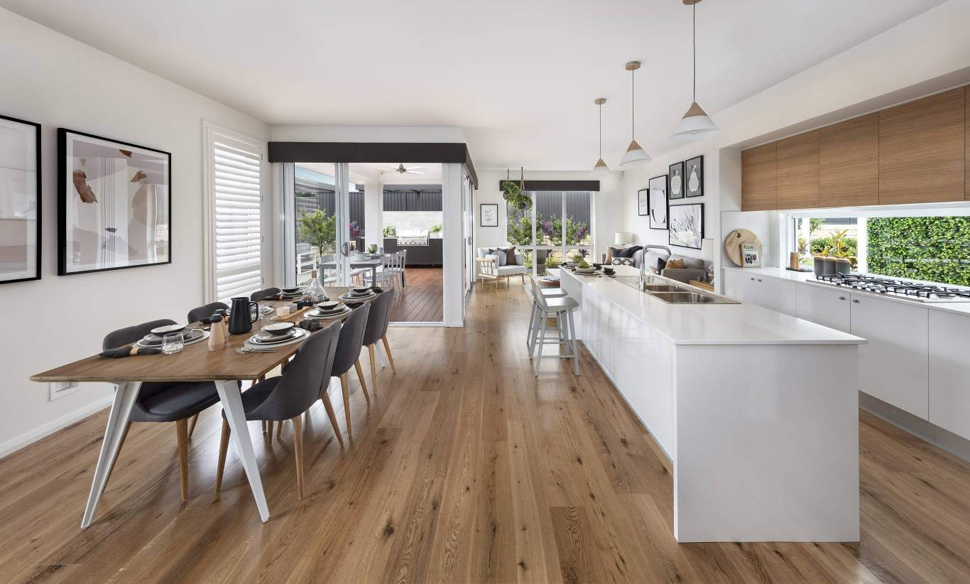 Tulloch 31 Two- Dining, Kitchen, Family/Living and Alfresco