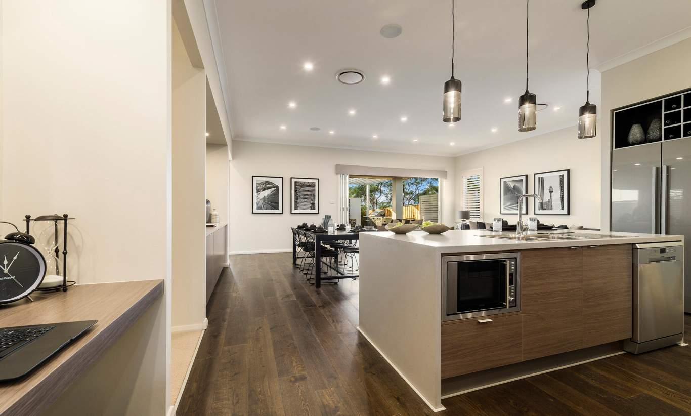 Kitchen, Study Nook - Vienna - Oran Park - McDonald Jones
