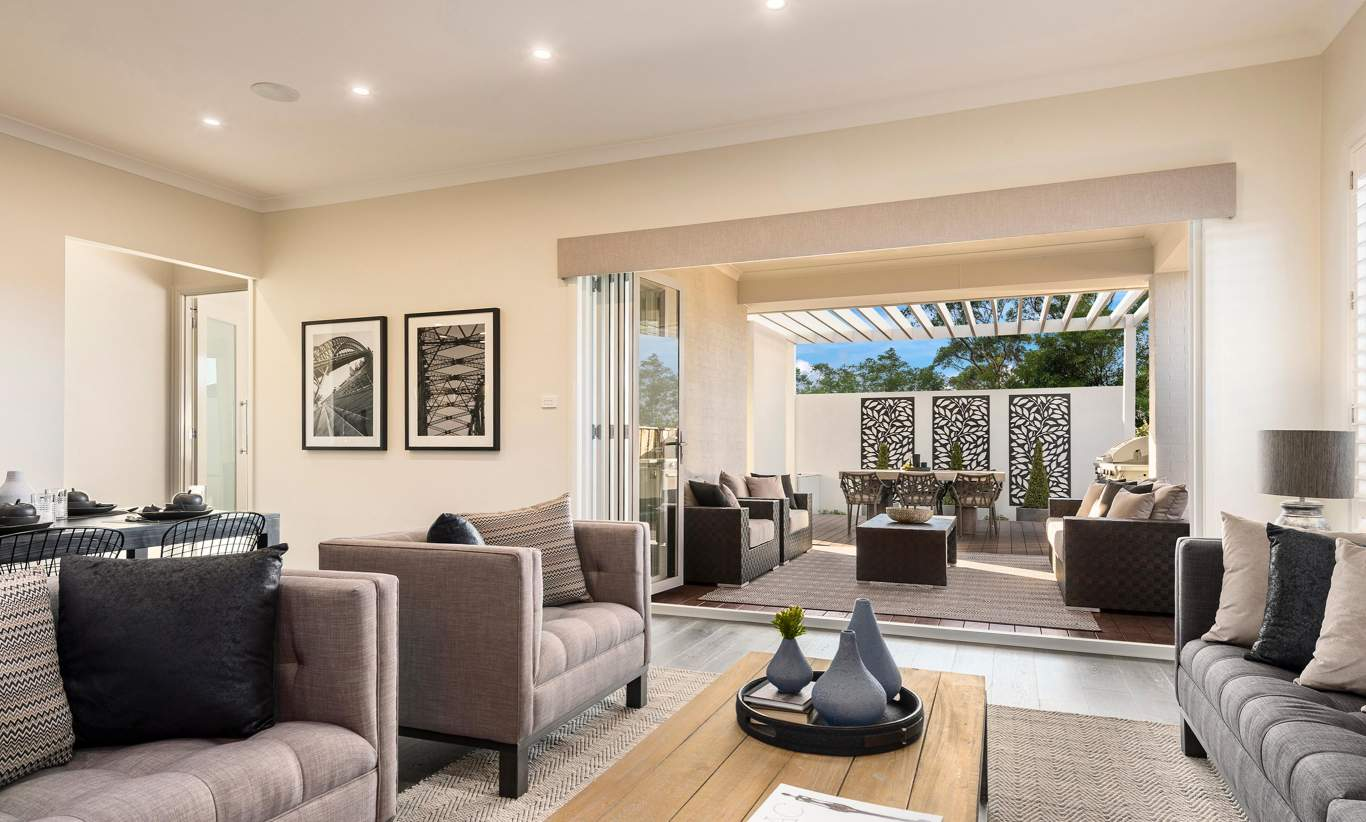 Living, Alfresco - Vienna - Oran Park - McDonald Jones