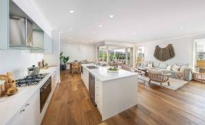 Coolum One- Kitchen, Living, Alfresco and Dining