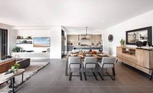 Santa Fe One- Living, Dining and Kitchen