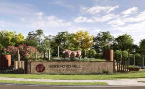 Hereford Hill Entrance