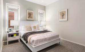 Bedroom, Santorini Display Home, Shell Cove - McDonald Jones