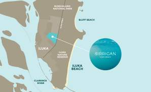 Birrigan- Iluka Map