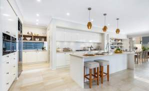 Kitchen & Butler's Pantry - Castleton Two Storey Home - McDonald Jones