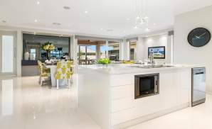 Kitchen & Dining area, Santorini Display Home, Shell Cove - McDonald Jones