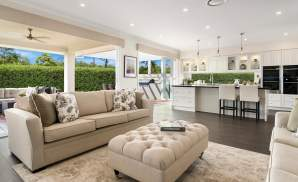 Living & Kitchen - Miami Display Home, Sapphire Beach - McDonald Jones