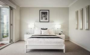 Master Suite, Santorini home design, Shell Cove - McDonald Jones