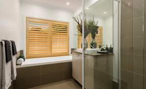 Bathroom, Santorini Display Home, Homeworld 5, Kellyville - McDonald Jones