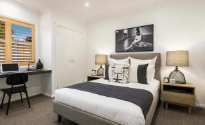 Bedroom, Santorini Display Home, Homeworld 5, Kellyville - McDonald Jones